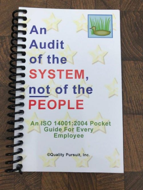 iso guide 2004 audit pocket system exam manager safety voucher certification including study course